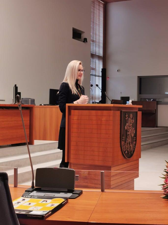 Vilniaus miesto savivaldybės salėje vyko mokymai naudojant įrankį OIRA